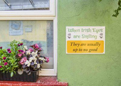 Ireland Irish Eyes Sign